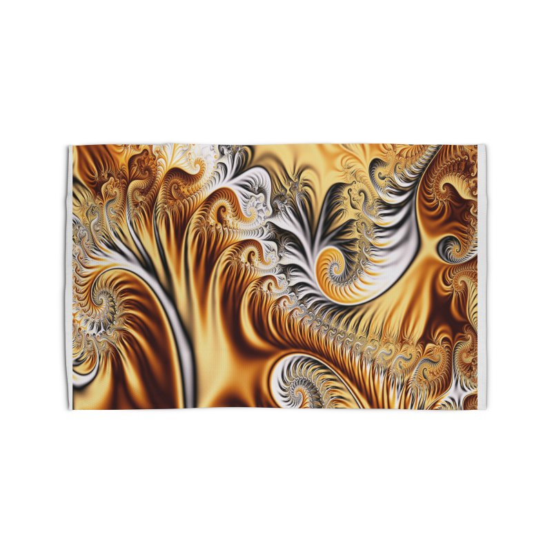 Fractal Art XXXIV Home Rug by Abstract designs