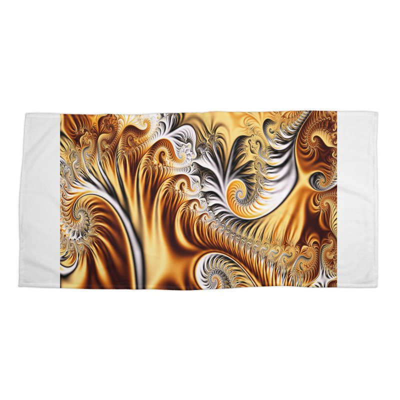 Fractal Art XXXIV Accessories Beach Towel by Abstract designs