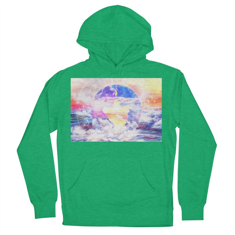 Artistic - XXII - Love is happiness Women's Pullover Hoody by Abstract designs