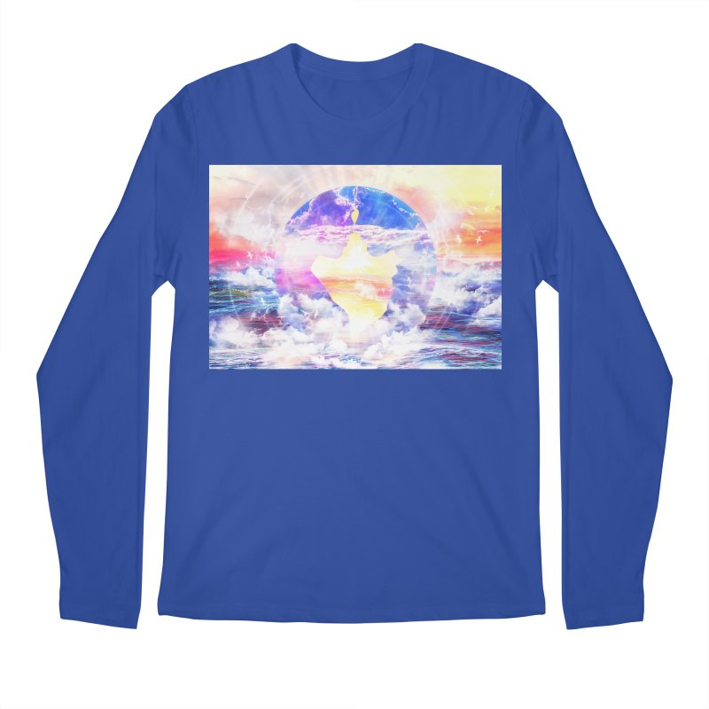 Artistic - XXII - Love is happiness Men's Longsleeve T-Shirt by Abstract designs