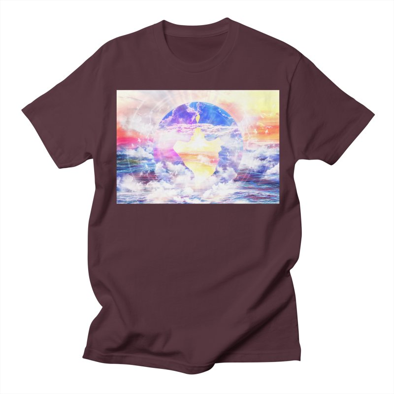 Artistic - XXII - Love is happiness Men's T-shirt by Abstract designs