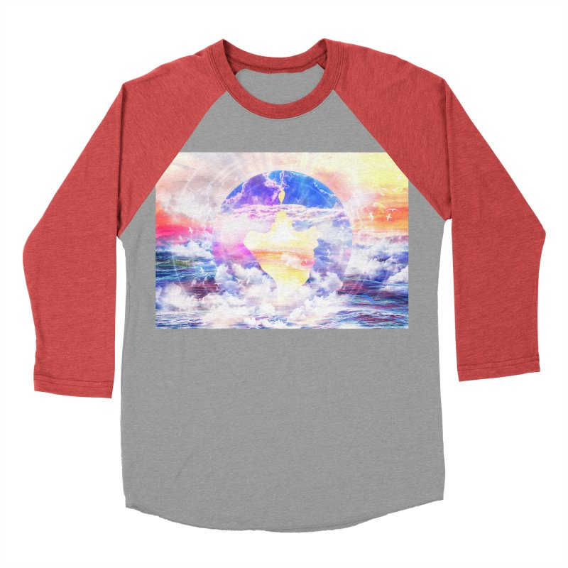 Artistic - XXII - Love is happiness Women's Baseball Triblend T-Shirt by Abstract designs