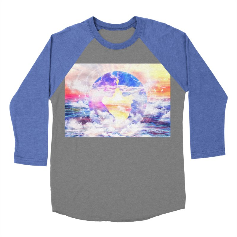Artistic - XXII - Love is happiness Men's Baseball Triblend T-Shirt by Abstract designs