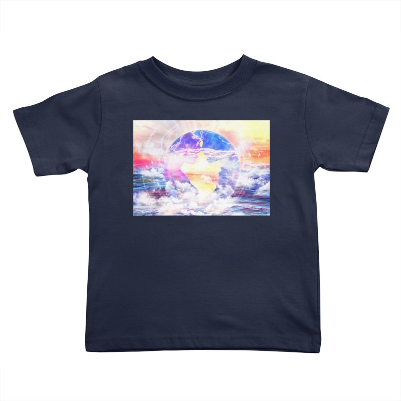Artistic - XXII - Love is happiness Kids Toddler T-Shirt by Abstract designs