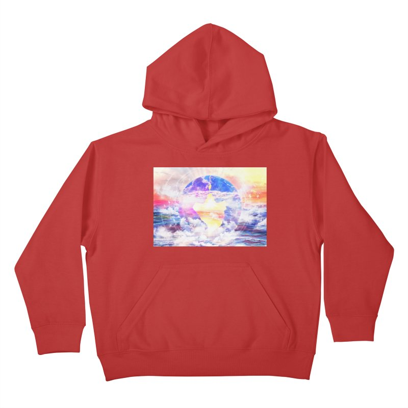 Artistic - XXII - Love is happiness Kids Pullover Hoody by Abstract designs