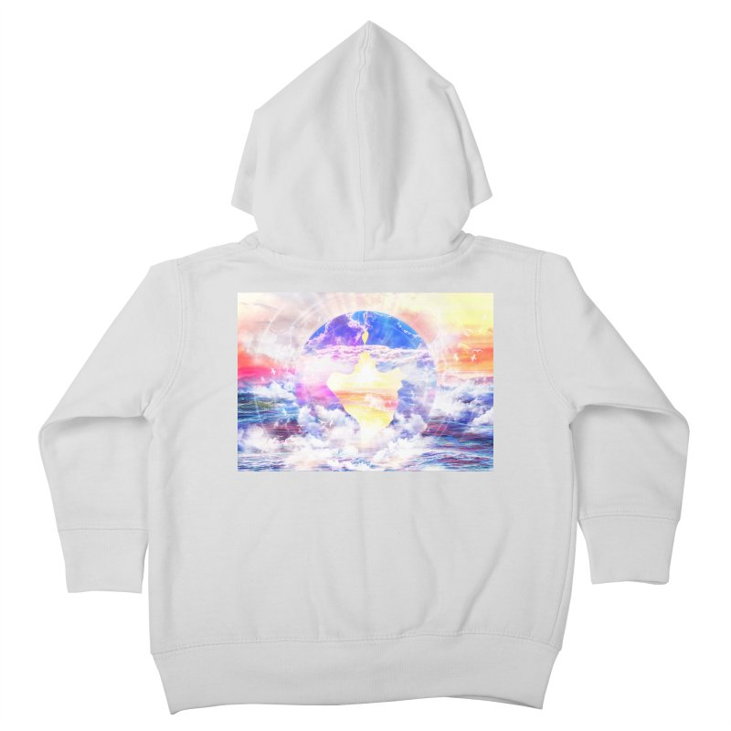 Artistic - XXII - Love is happiness Kids Toddler Zip-Up Hoody by Abstract designs