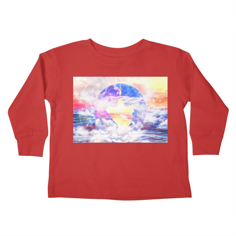 Artistic - XXII - Love is happiness Kids Toddler Longsleeve T-Shirt by Abstract designs