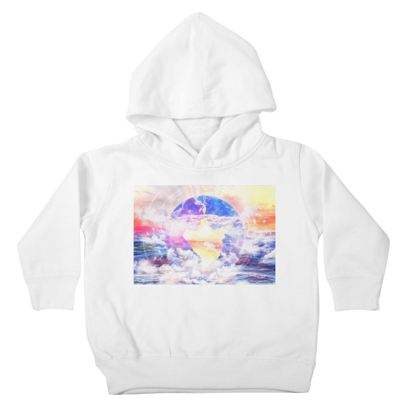 Artistic - XXII - Love is happiness Kids Toddler Pullover Hoody by Abstract designs