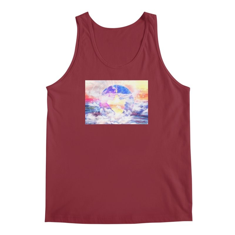 Artistic - XXII - Love is happiness Men's Tank by Abstract designs