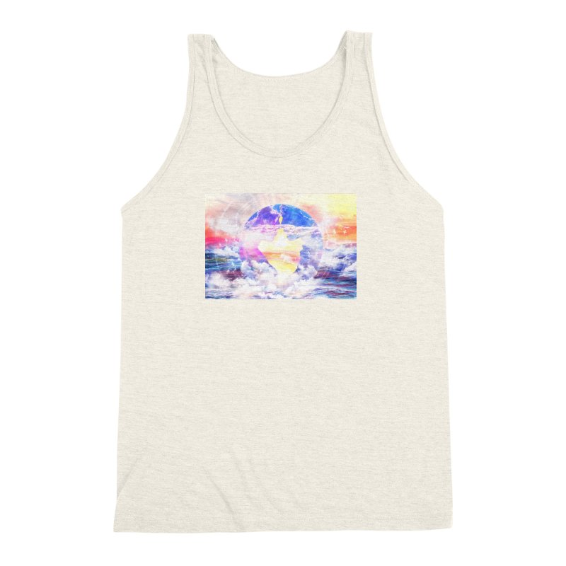 Artistic - XXII - Love is happiness Men's Triblend Tank by Abstract designs