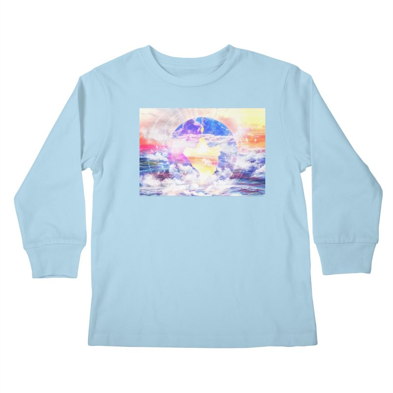 Artistic - XXII - Love is happiness Kids Longsleeve T-Shirt by Abstract designs