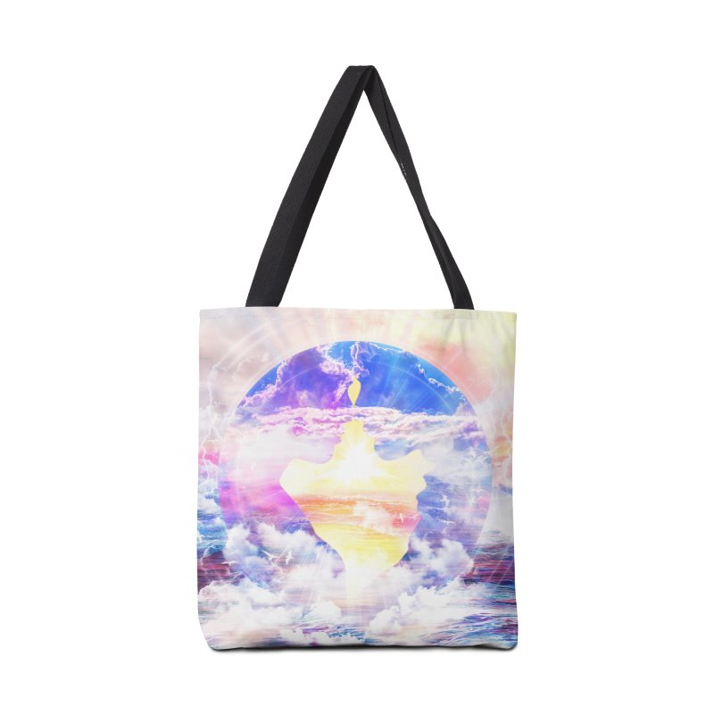 Artistic - XXII - Love is happiness Accessories Bag by Abstract designs