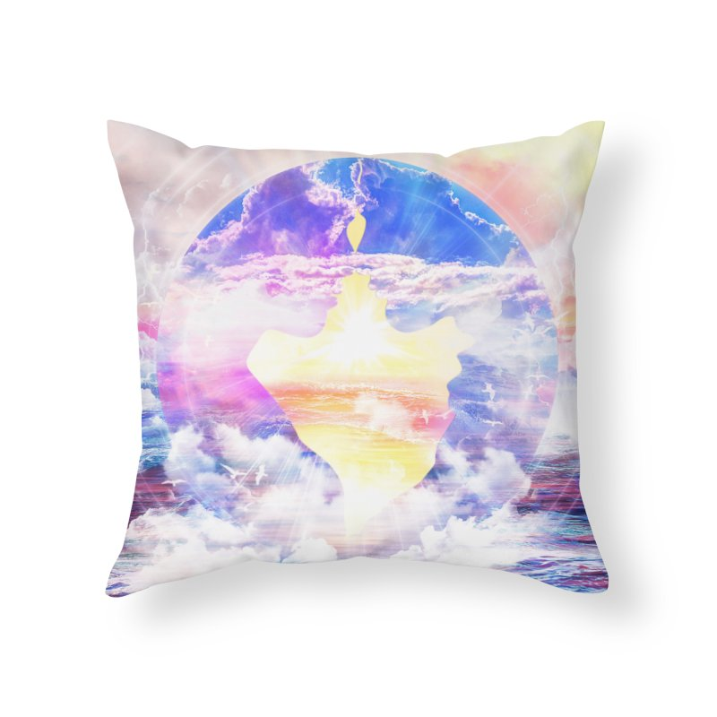 Artistic - XXII - Love is happiness Home Throw Pillow by Abstract designs