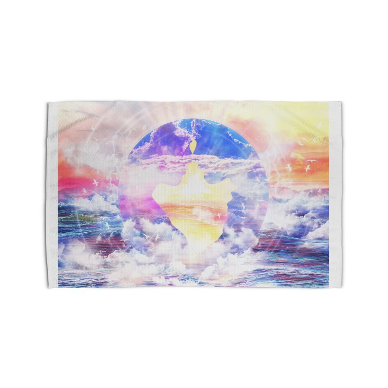 Artistic - XXII - Love is happiness Home Rug by Abstract designs
