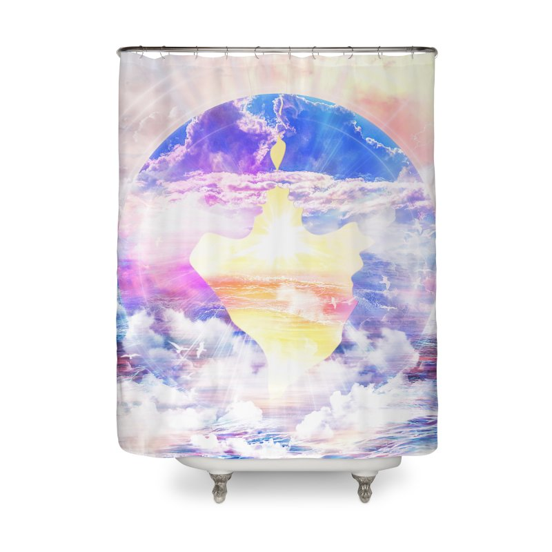 Artistic - XXII - Love is happiness Home Shower Curtain by Abstract designs