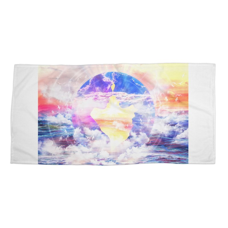 Artistic - XXII - Love is happiness Accessories Beach Towel by Abstract designs