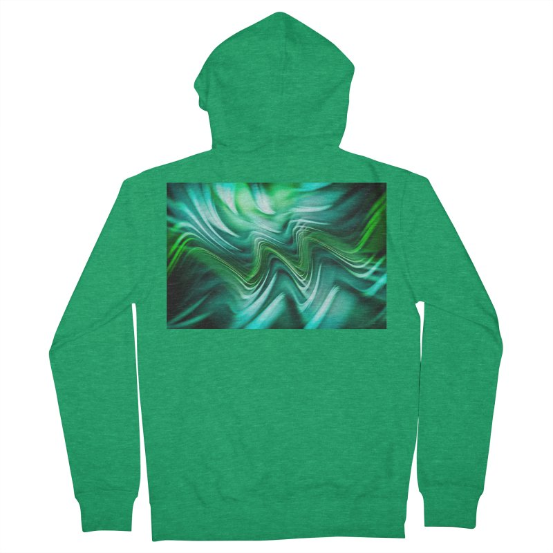 Fractal Art XXXV Women's Zip-Up Hoody by Abstract designs