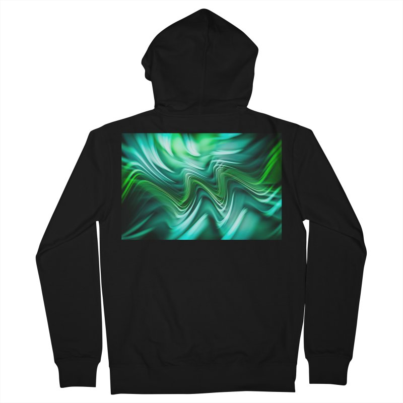 Fractal Art XXXV Men's Zip-Up Hoody by Abstract designs