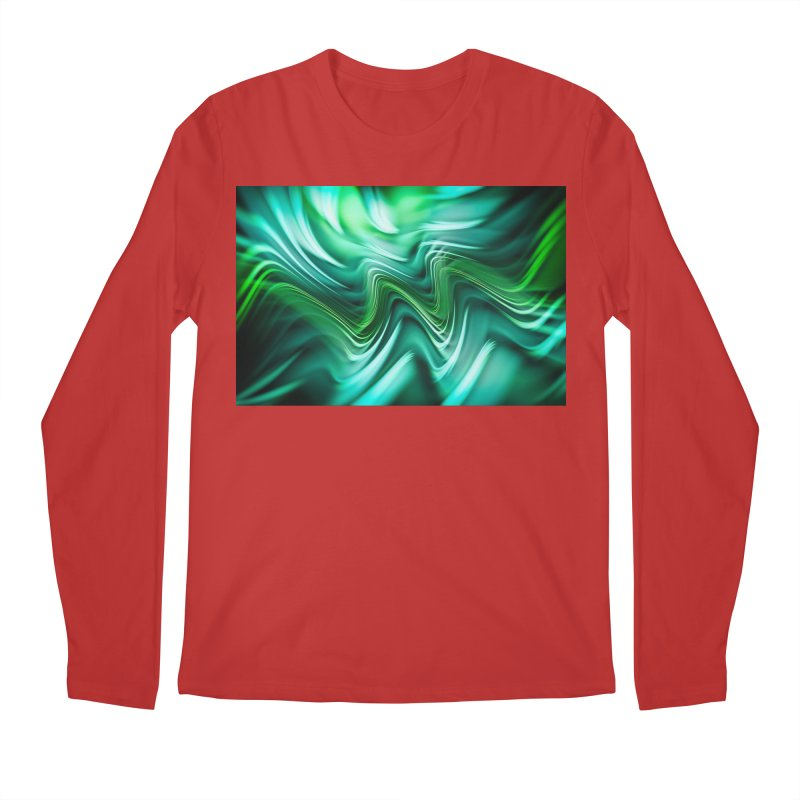 Fractal Art XXXV Men's Longsleeve T-Shirt by Abstract designs