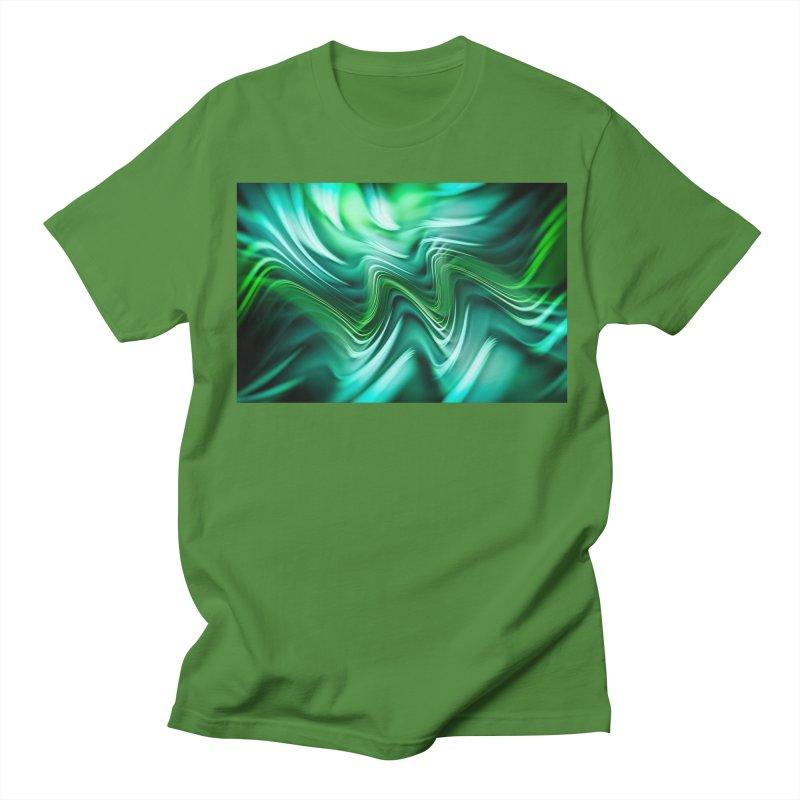 Fractal Art XXXV Women's Unisex T-Shirt by Abstract designs