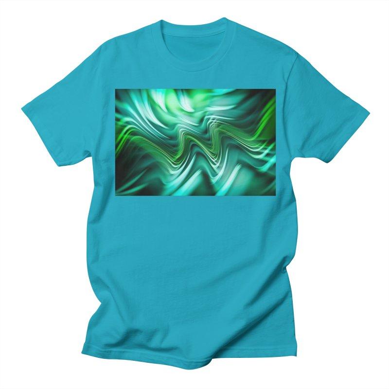 Fractal Art XXXV Men's T-Shirt by Abstract designs