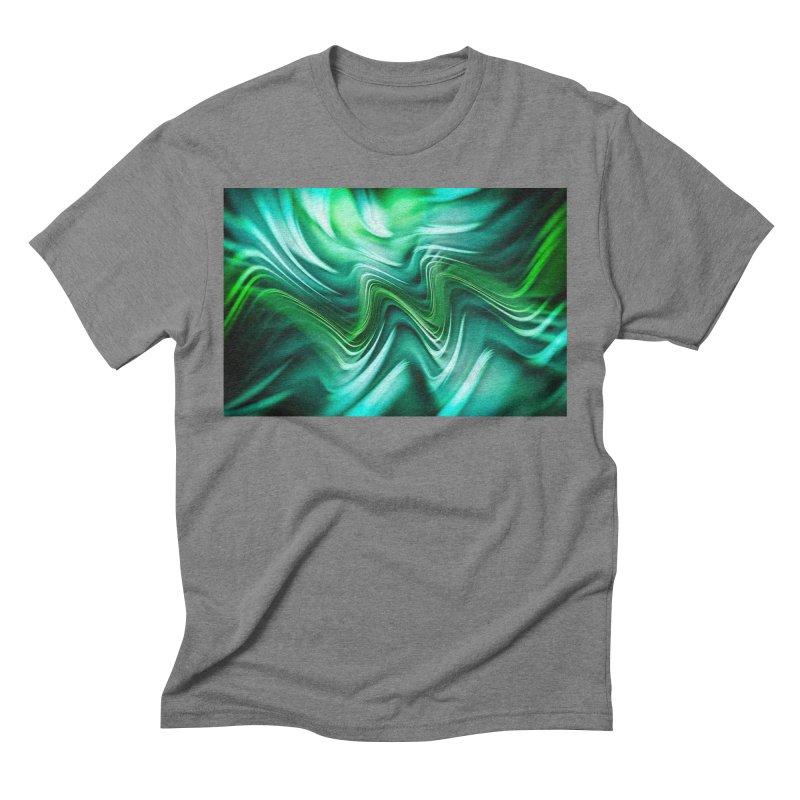 Fractal Art XXXV Men's Triblend T-shirt by Abstract designs
