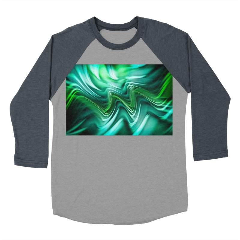 Fractal Art XXXV Women's Baseball Triblend T-Shirt by Abstract designs