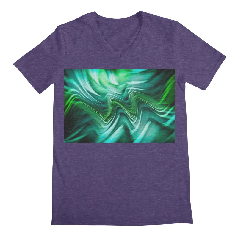 Fractal Art XXXV Men's V-Neck by Abstract designs