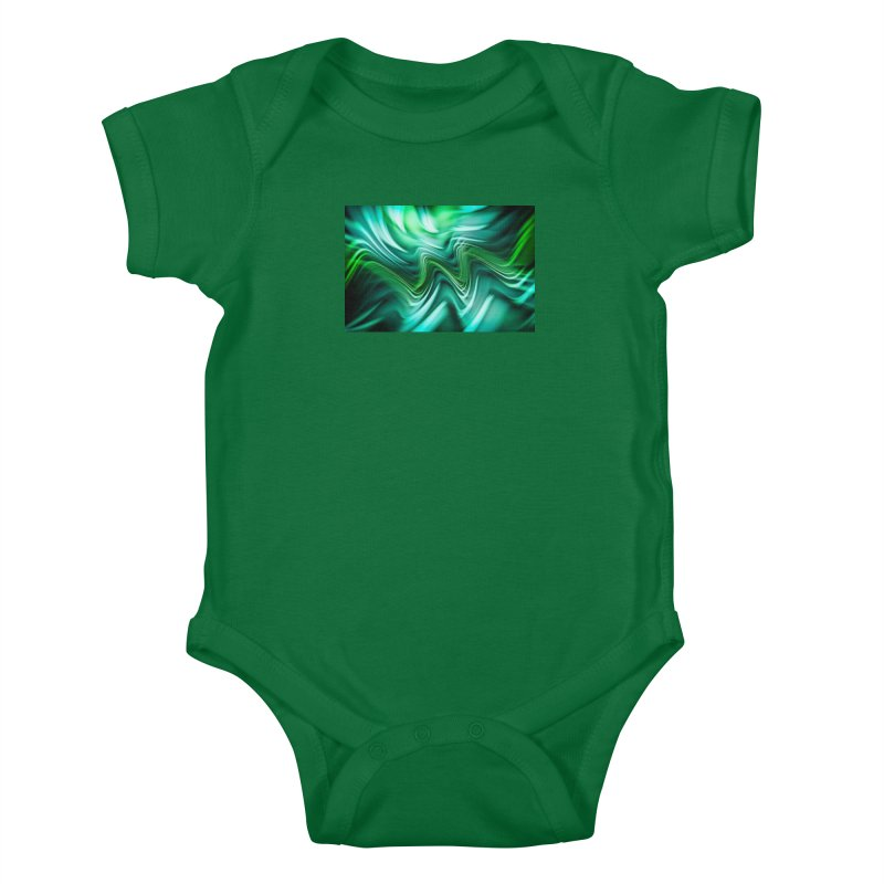 Fractal Art XXXV Kids Baby Bodysuit by Abstract designs
