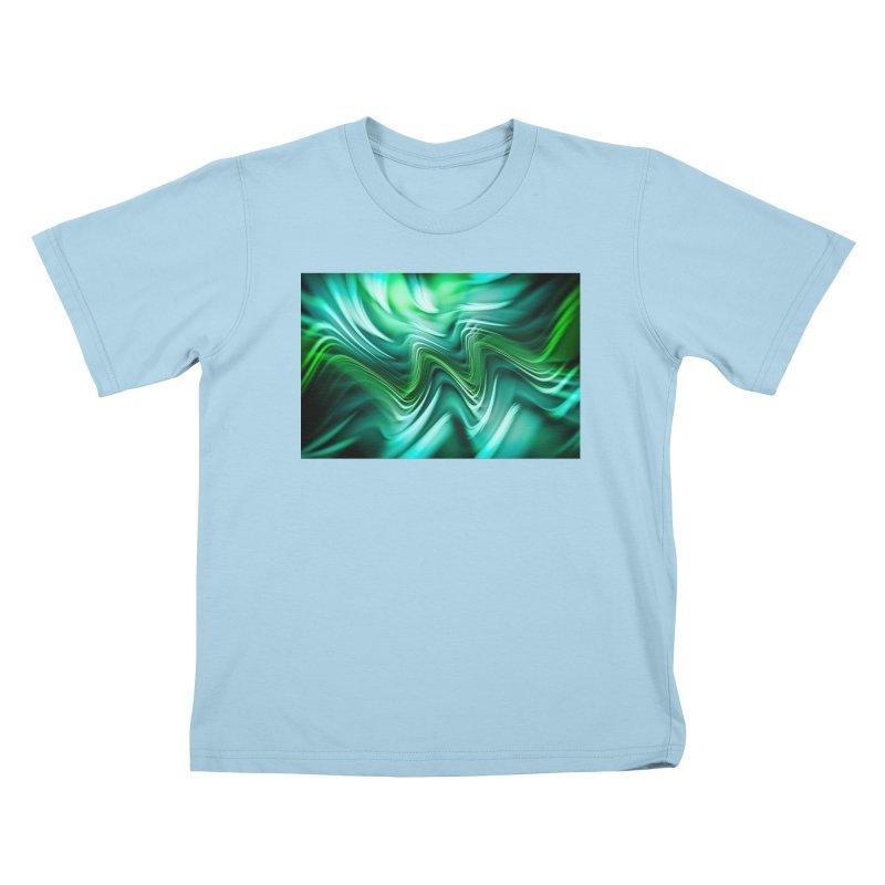 Fractal Art XXXV Kids T-shirt by Abstract designs