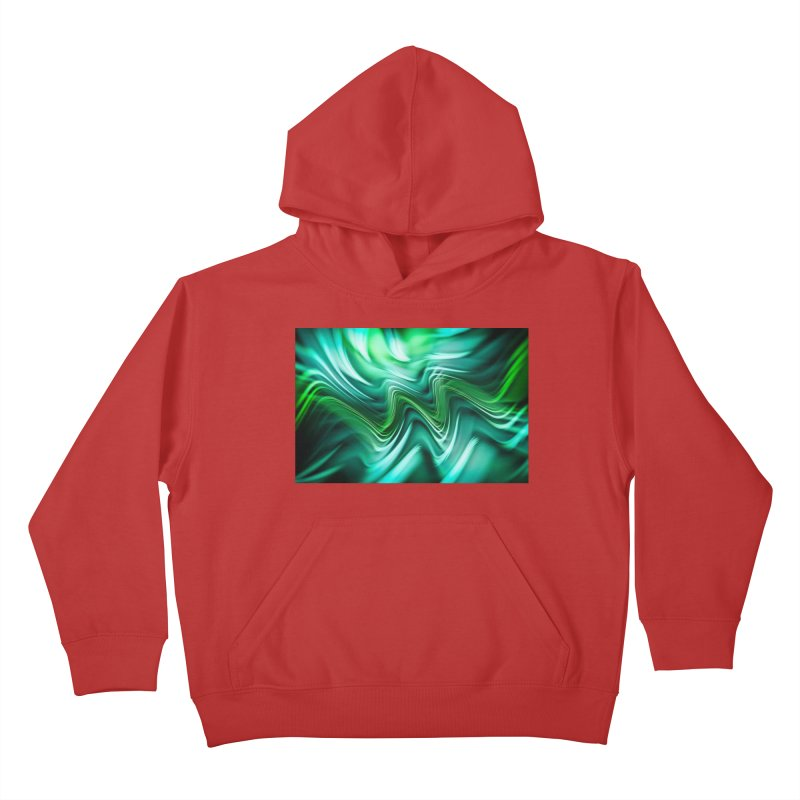 Fractal Art XXXV Kids Pullover Hoody by Abstract designs