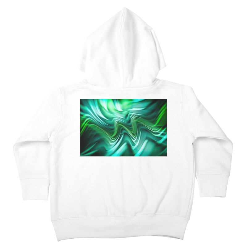 Fractal Art XXXV Kids Toddler Zip-Up Hoody by Abstract designs