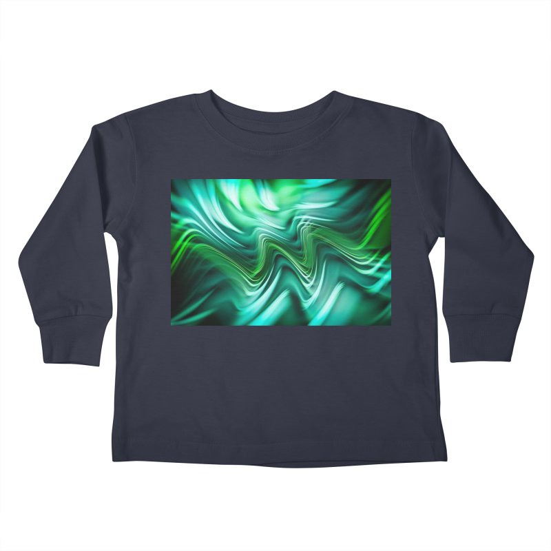 Fractal Art XXXV Kids Toddler Longsleeve T-Shirt by Abstract designs