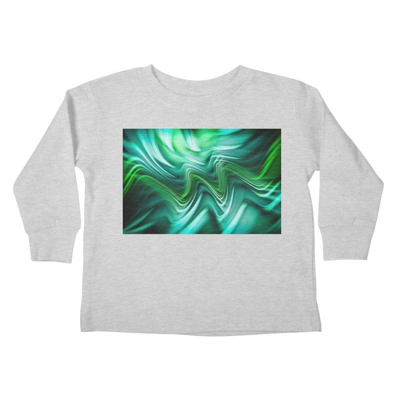 Fractal Art XXXV Kids Toddler Longsleeve T-Shirt by Abstract designs