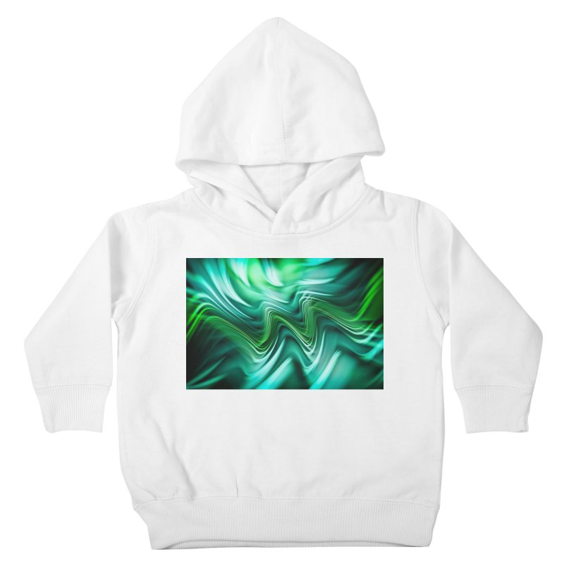 Fractal Art XXXV Kids Toddler Pullover Hoody by Abstract designs