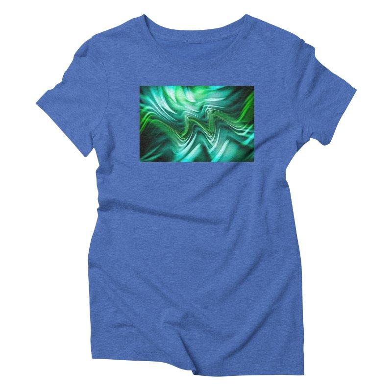Fractal Art XXXV Women's Triblend T-shirt by Abstract designs