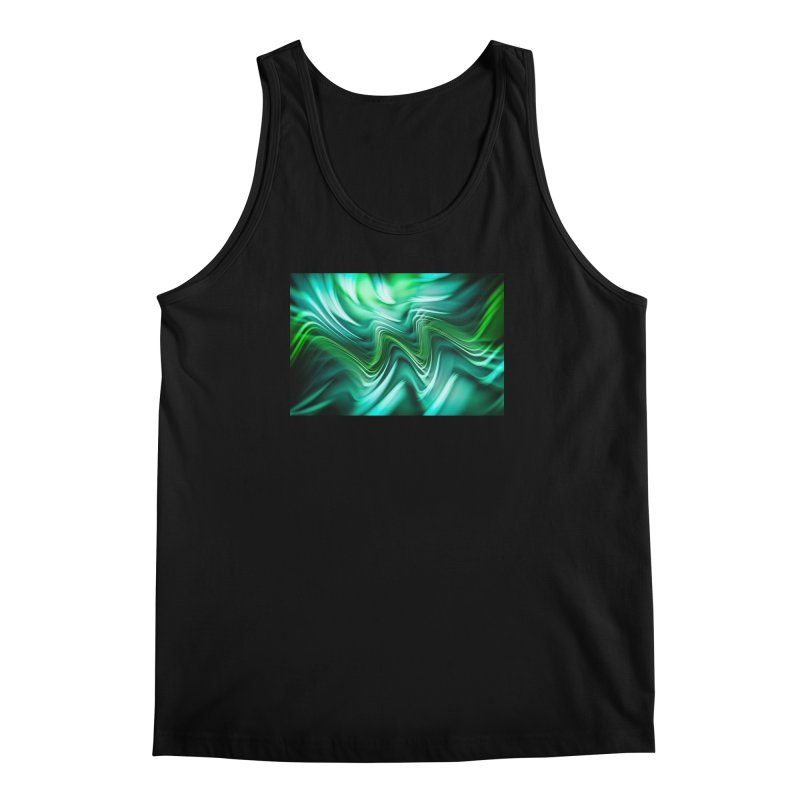 Fractal Art XXXV Men's Tank by Abstract designs