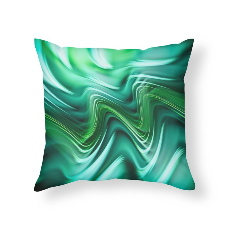 Fractal Art XXXV Home Throw Pillow by Abstract designs