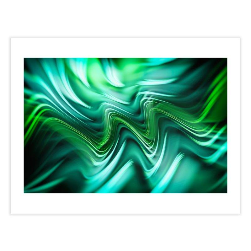 Fractal Art XXXV Home Fine Art Print by Abstract designs