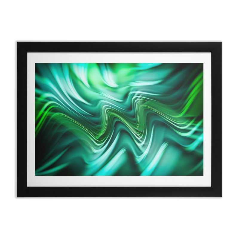 Fractal Art XXXV Home Framed Fine Art Print by Abstract designs