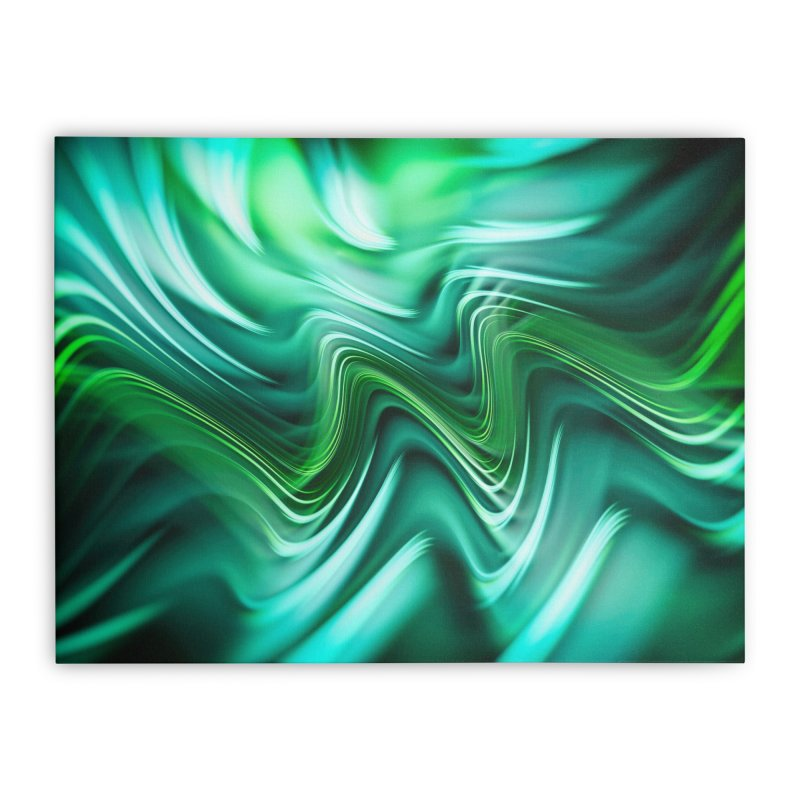 Fractal Art XXXV Home Stretched Canvas by Abstract designs