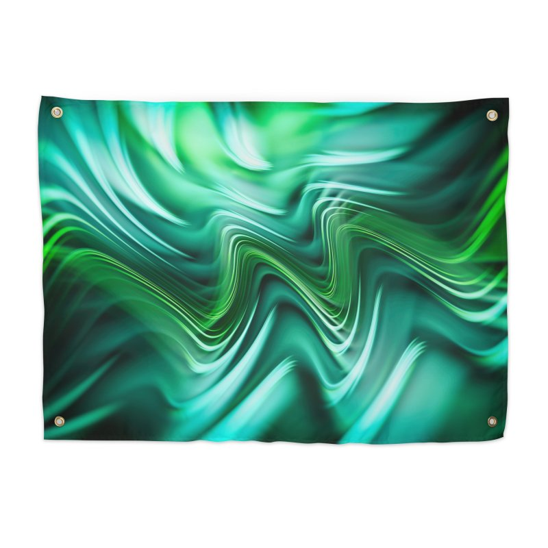 Fractal Art XXXV Home Tapestry by Abstract designs