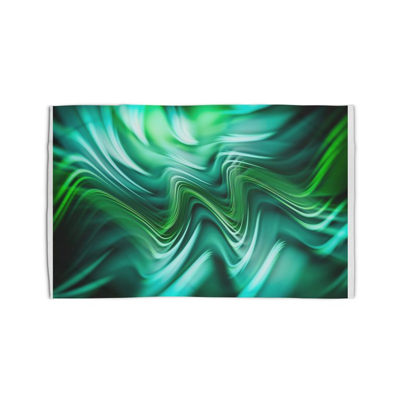 Fractal Art XXXV Home Rug by Abstract designs