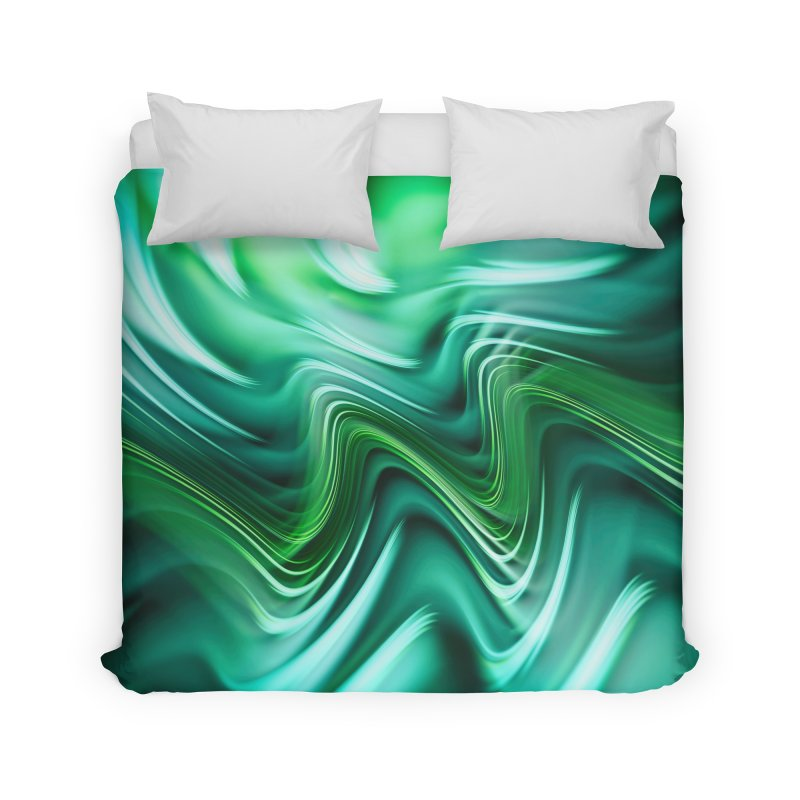 Fractal Art XXXV Home Duvet by Abstract designs