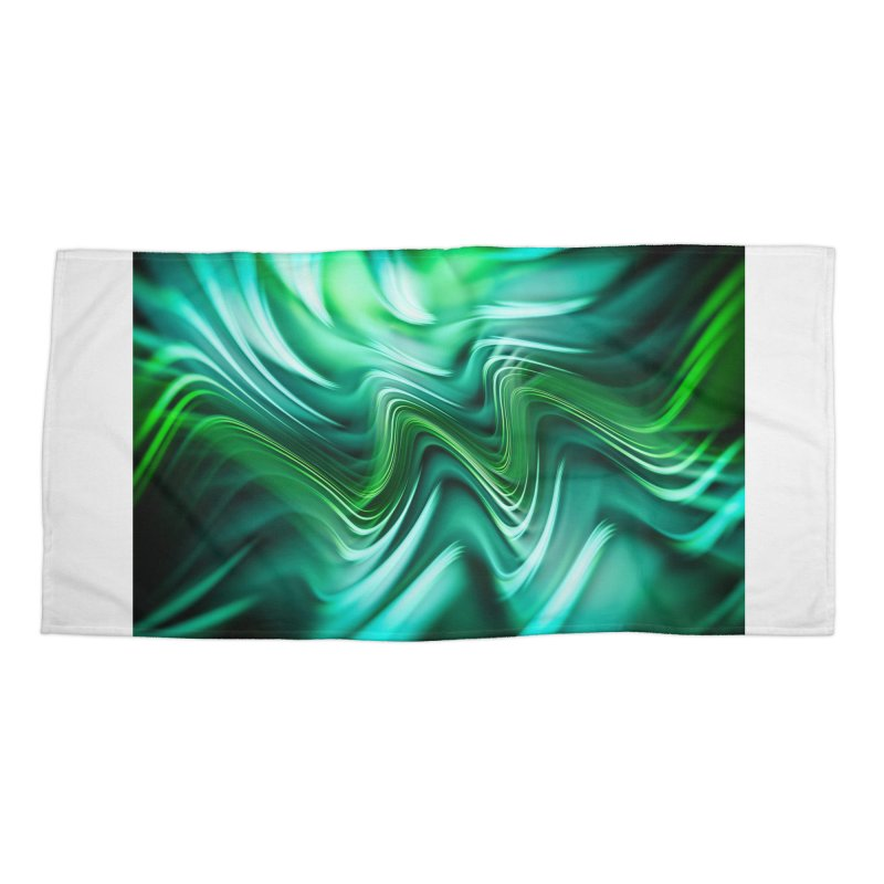 Fractal Art XXXV Accessories Beach Towel by Abstract designs