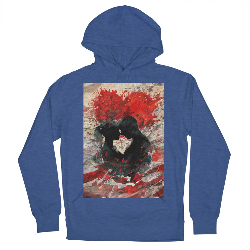 Artistic - Forever together Women's Pullover Hoody by Abstract designs