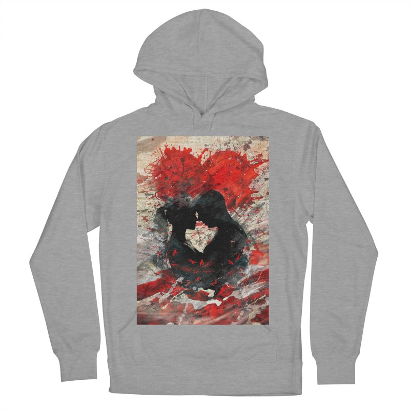 Artistic - Forever together Men's Pullover Hoody by Abstract designs
