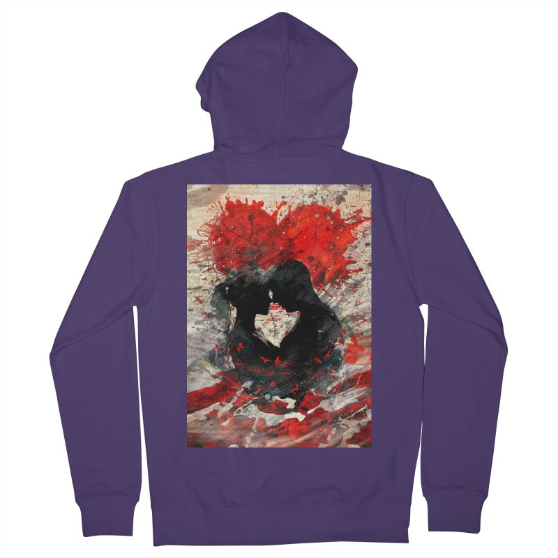Artistic - Forever together Women's Zip-Up Hoody by Abstract designs
