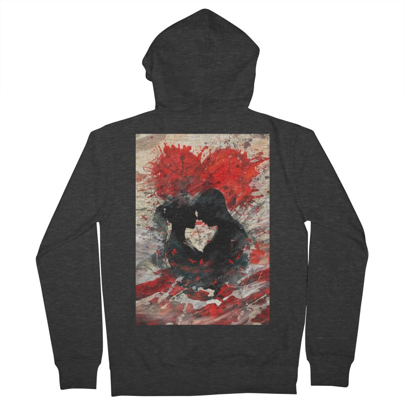 Artistic - Forever together Men's Zip-Up Hoody by Abstract designs