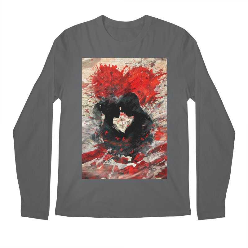 Artistic - Forever together Men's Longsleeve T-Shirt by Abstract designs